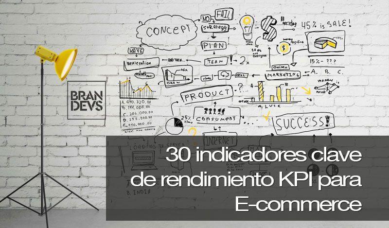 30 indicadores clave de rendimiento kpi para Ecommerce