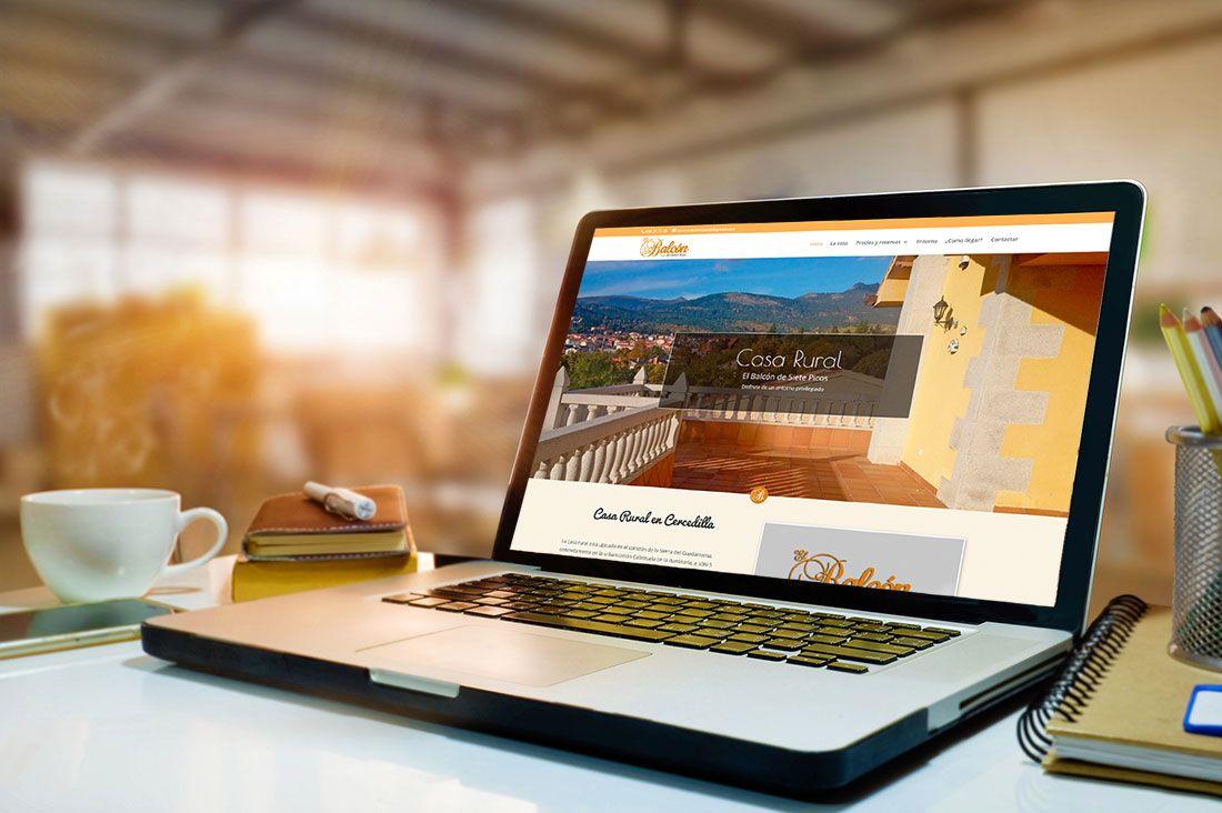 Casa Rural El Balcon de Siete Picos web diseñada por Brandevs