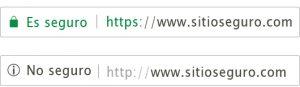 Como diferenciar si tiene o no certificado ssl - Brandevs.com