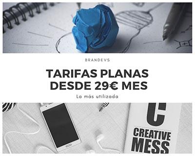 Tarifas Planas de Diseño web Brandevs