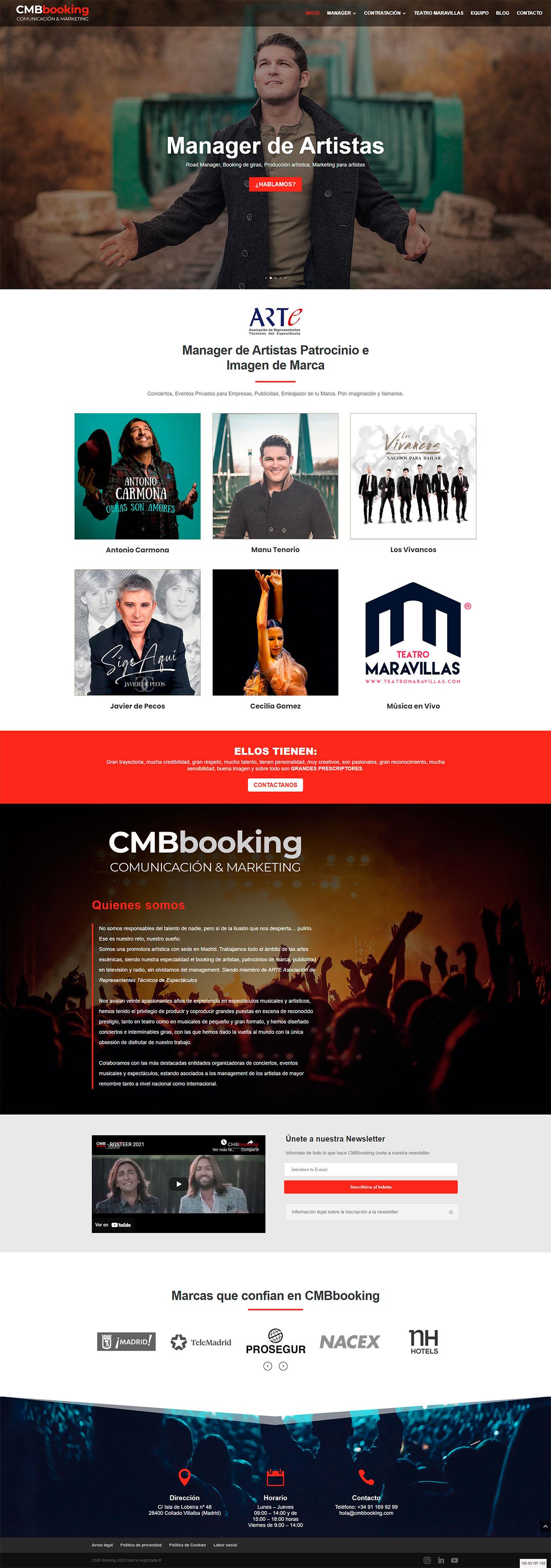 CMBbooking-portofio-diseño-web-madrid